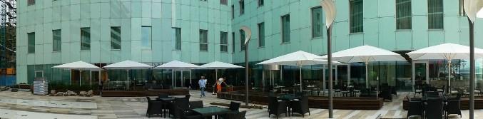 Hotel Kempinski pred Agape realizaciou